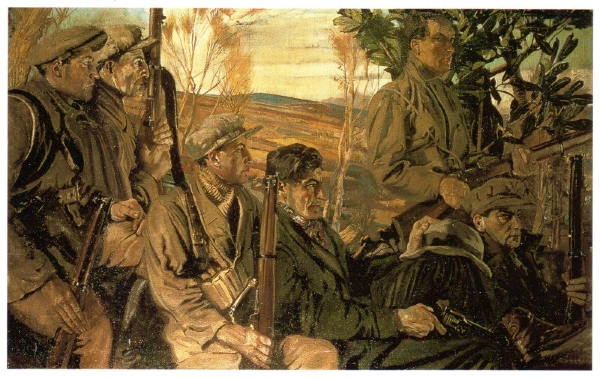 1889 – Seán Keating, painter, is born in Limerick. – Stair ...