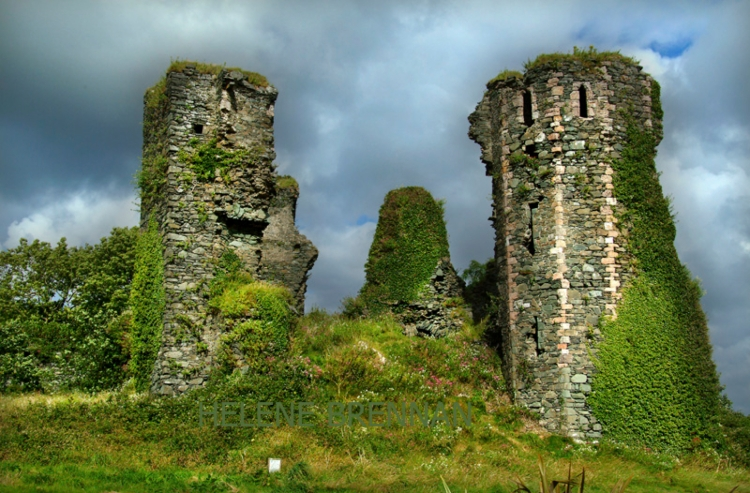 North burg Castle in Greencastle is said to be the home of two spectres united in the afterlife