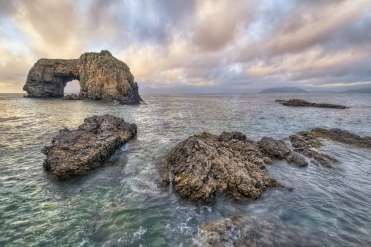 Pollet Sea Arch, Fanad, Donegal