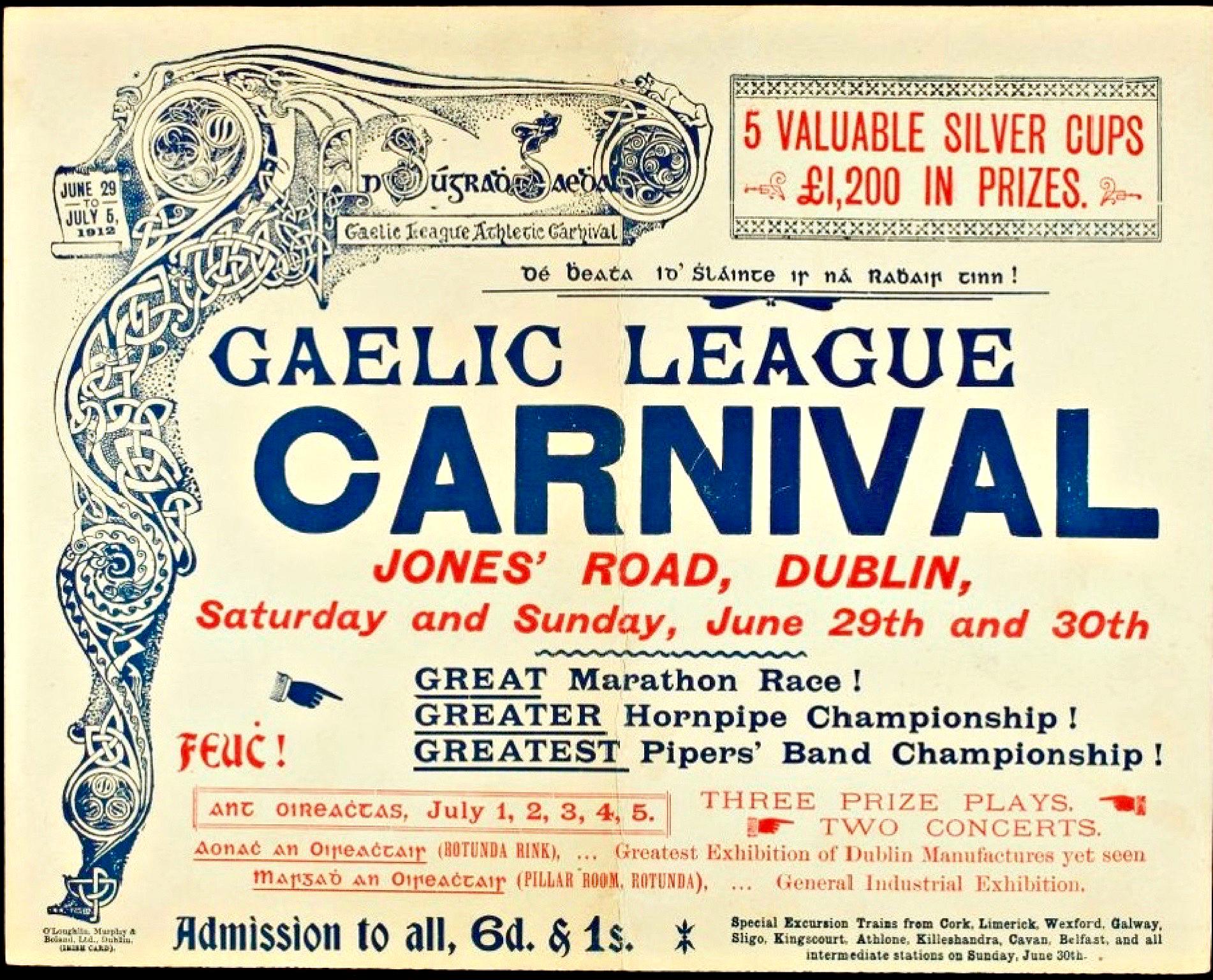 the call for the gaelic league essay