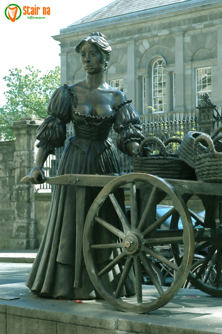 1663 molly malone is christened at st john s church