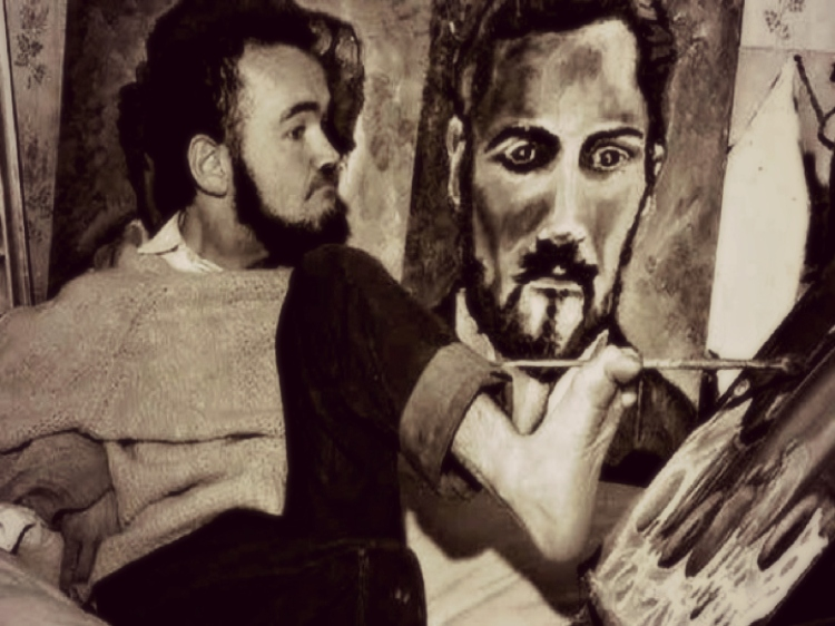 1981 Death Of Christy Brown The Handicapped Dublin Author Who Learned To Type With His Left Foot He Is Buried In The Glasnevin Cemetery Dublin