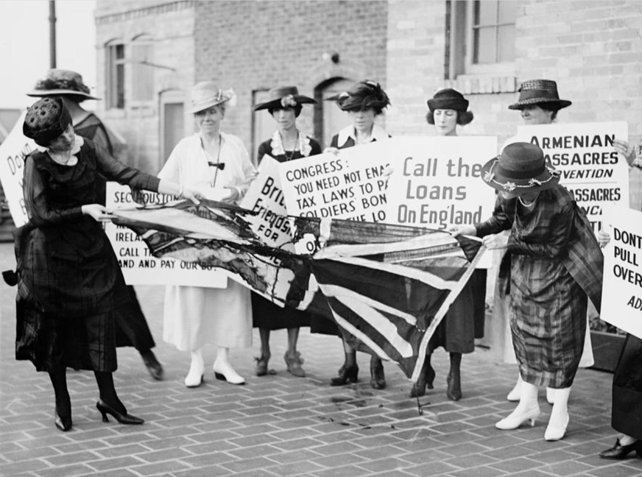 Irish american women
