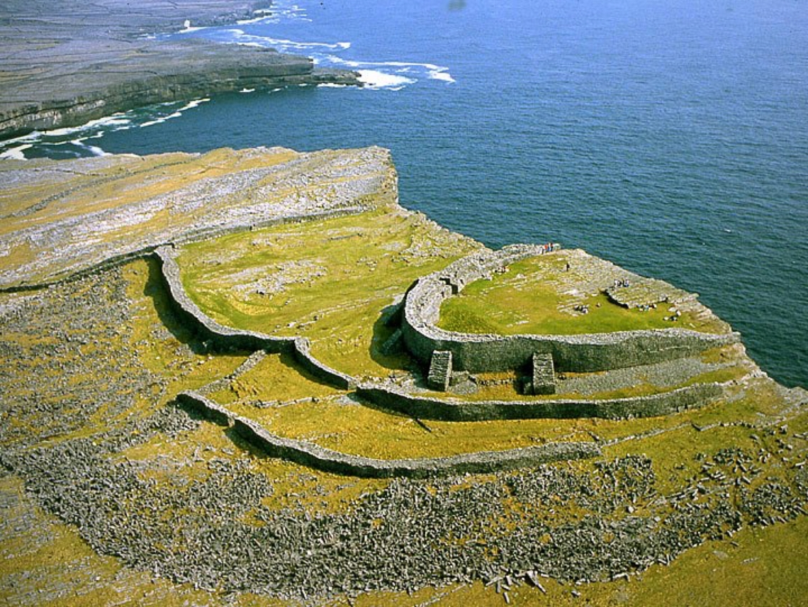 Dun Aonghasa, Stone Fort. Aran Islands, Co. Galway.