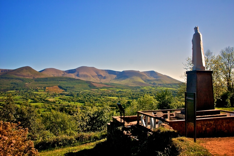 Christ the King, Glen of Aherlow & Galtee Mountains, Co. Tipperary