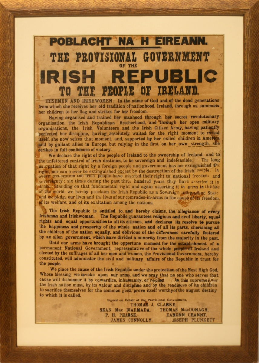 proclamation of the irish republic essay 1916 rising of irish  irish nationalism essay on the radical faction  of the ireland history american republic, the proclamation of articles in.