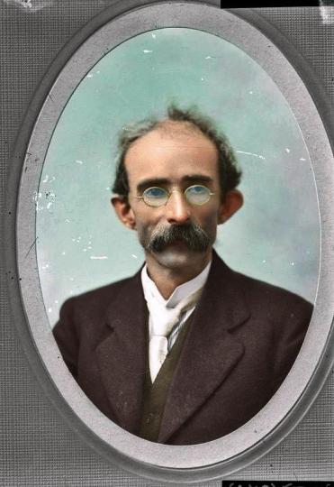 Thomas J Clarke, Irish revolutionary leader in 1916